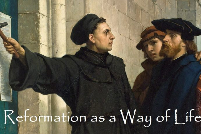 The Reformation as a Way of Life -SU210