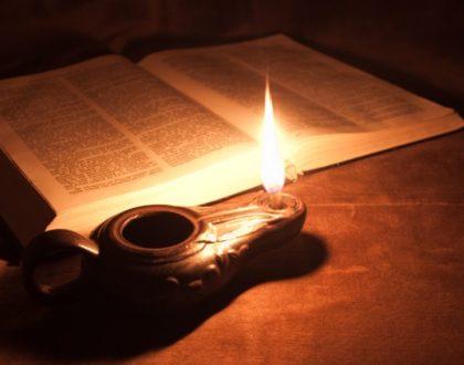 A Lamp Lit