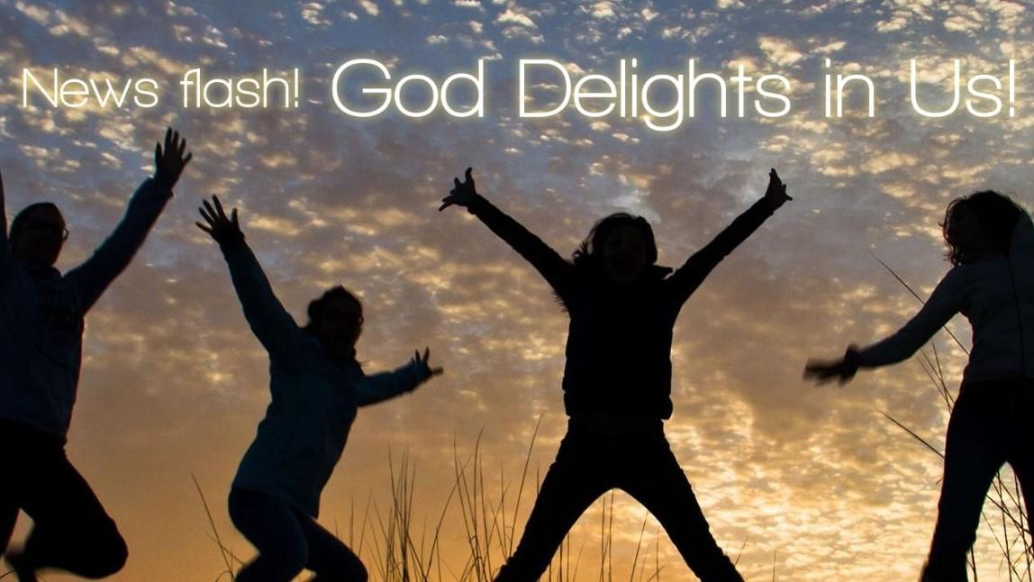 God Delights in Us - SU222
