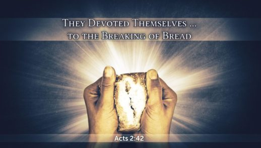 """They Devoted Themselves . . . to the Breaking of Bread"" - SU223"