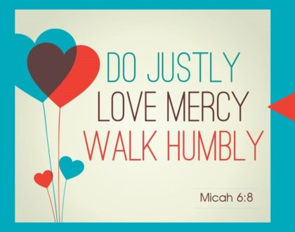 """Love Mercy"" – Giving People What They Don't Deserve"