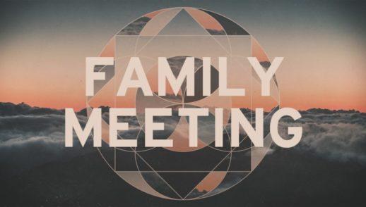 Family Meeting, January 27, 2019