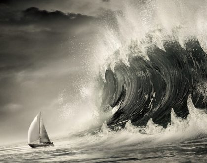 Sermons with Boats in Them #1: A 27-Footer, a Great Windstorm of Wind, and a Cushion