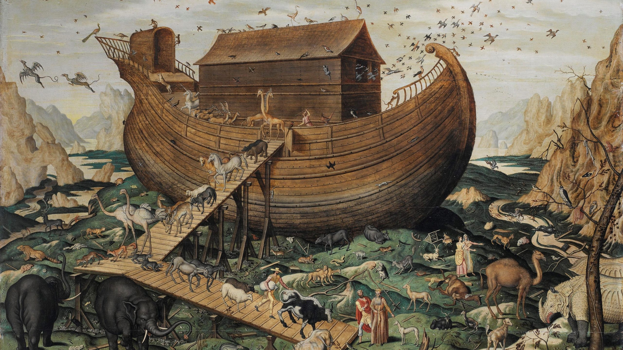 "Noah's Boat, Part 1: ""Just as it Happened in the Days of Noah"""